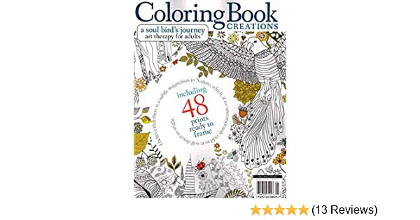 Coloring Book Creations Magazine Issue 01 2016 Media Lab Publishing 0074470571216 Amazon Books