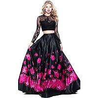 Nplash Fashion Satin silk Lehenga Choli (blackrose _ pink_Pink_Free Size)
