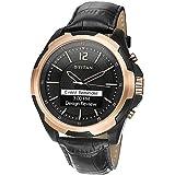 Titan Analog-Digital Black Dial Men's Watch-90055KL01
