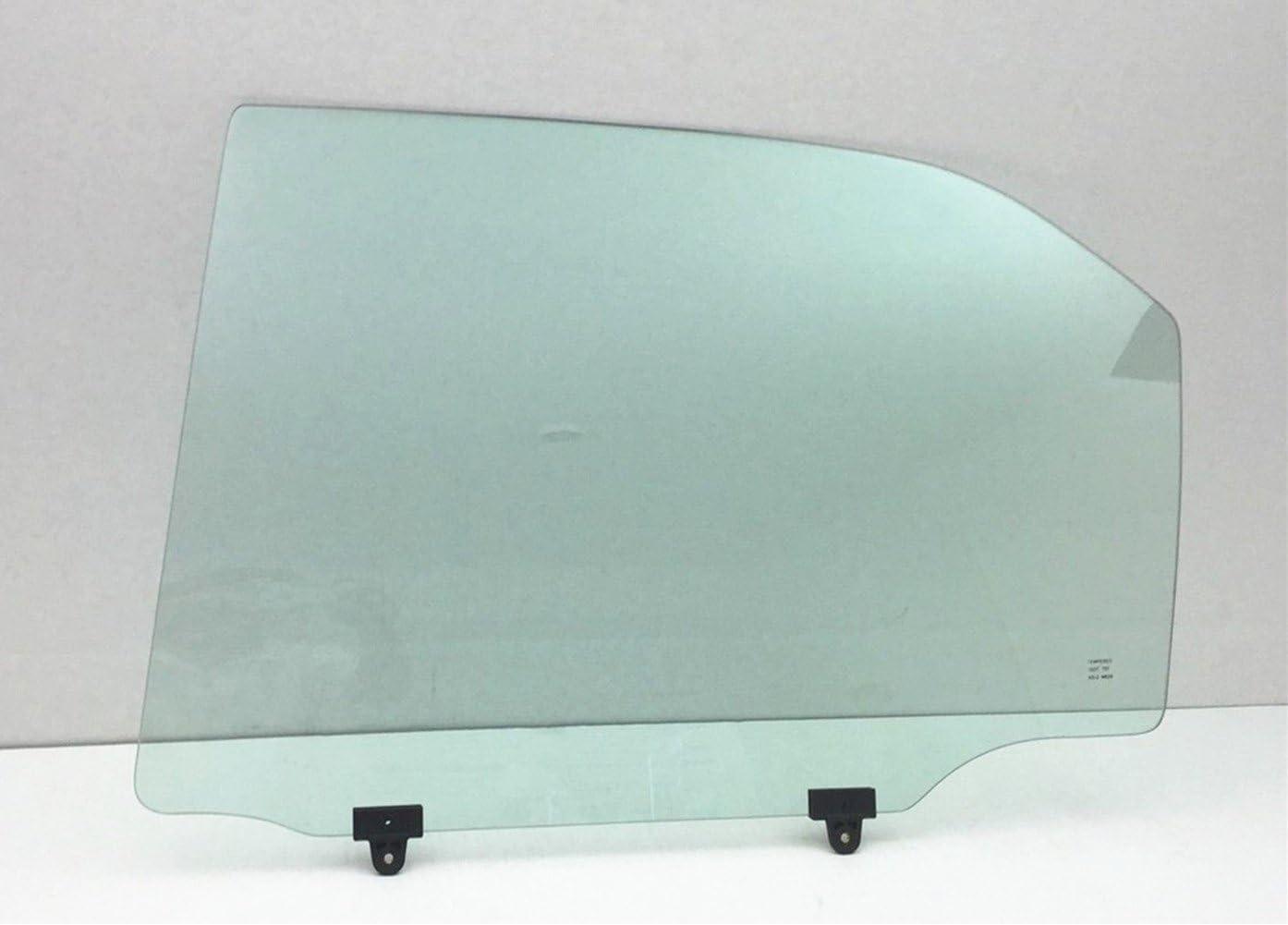 NAGD Compatible with 2001-2005 Honda Civic 4 Door Sedan Passenger Side Right Rear Door Window Glass