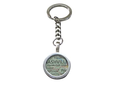 Vanderbilt University Map Pendant Keychain | Amazon.com