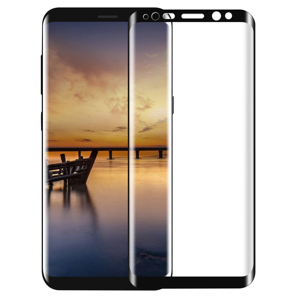 Protection écran Samsung Galaxy S8, Tronisky 3D Couverture Complète Galaxy S8 Film Protège d'écran Screen Protector Anti-Rayures 9H Verre trempé Protecteur D'écran haute d&eacut free shipping