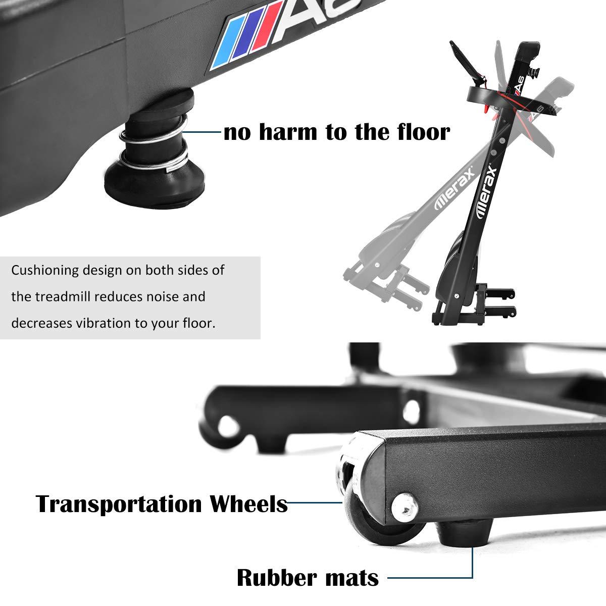 Merax - Cinta de Correr eléctrica Plegable y motorizada, fácil de ...