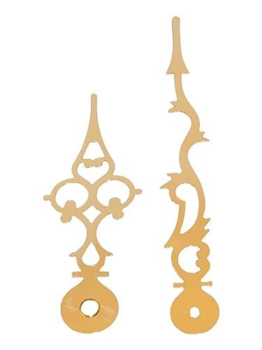 Relojes Junghans W838 W817 manecillas, multiperforado, Oro Reloj manecillas 87 mm/60 (