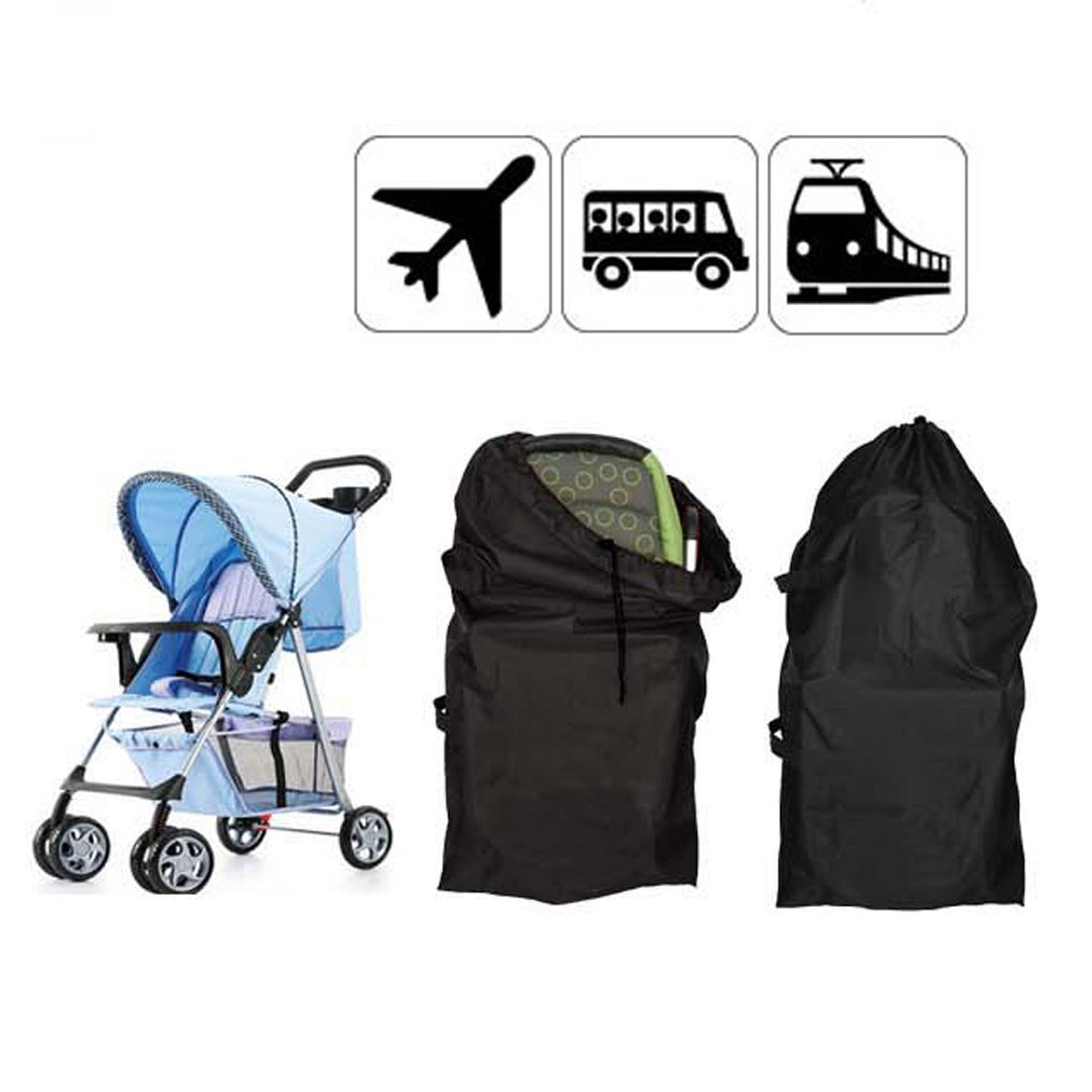 Baby Stroller Travel Carry Bags Waterproof Folding Storage Organizer with Adjustable Drawstring Strap, Perfect for Storage and Airport Gate Check,Fits Carseat,Booster & Infant Carrier