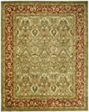 Safavieh Persian Legend Collection PL819B Handmade Traditional Light Green and Rust Wool Area Rug (2′ x 3′) Review