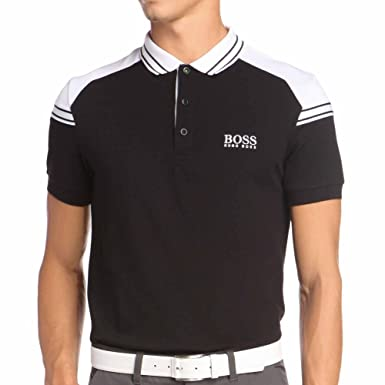 recognized brands meticulous dyeing processes special discount of Amazon.com: Hugo Boss Paddy Pro 1 Polo Shirt Men Black (S ...