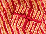 """Gift Wrapping Paper 30"""" x 84"""" Sheet Vintage Style (Bacon)"""