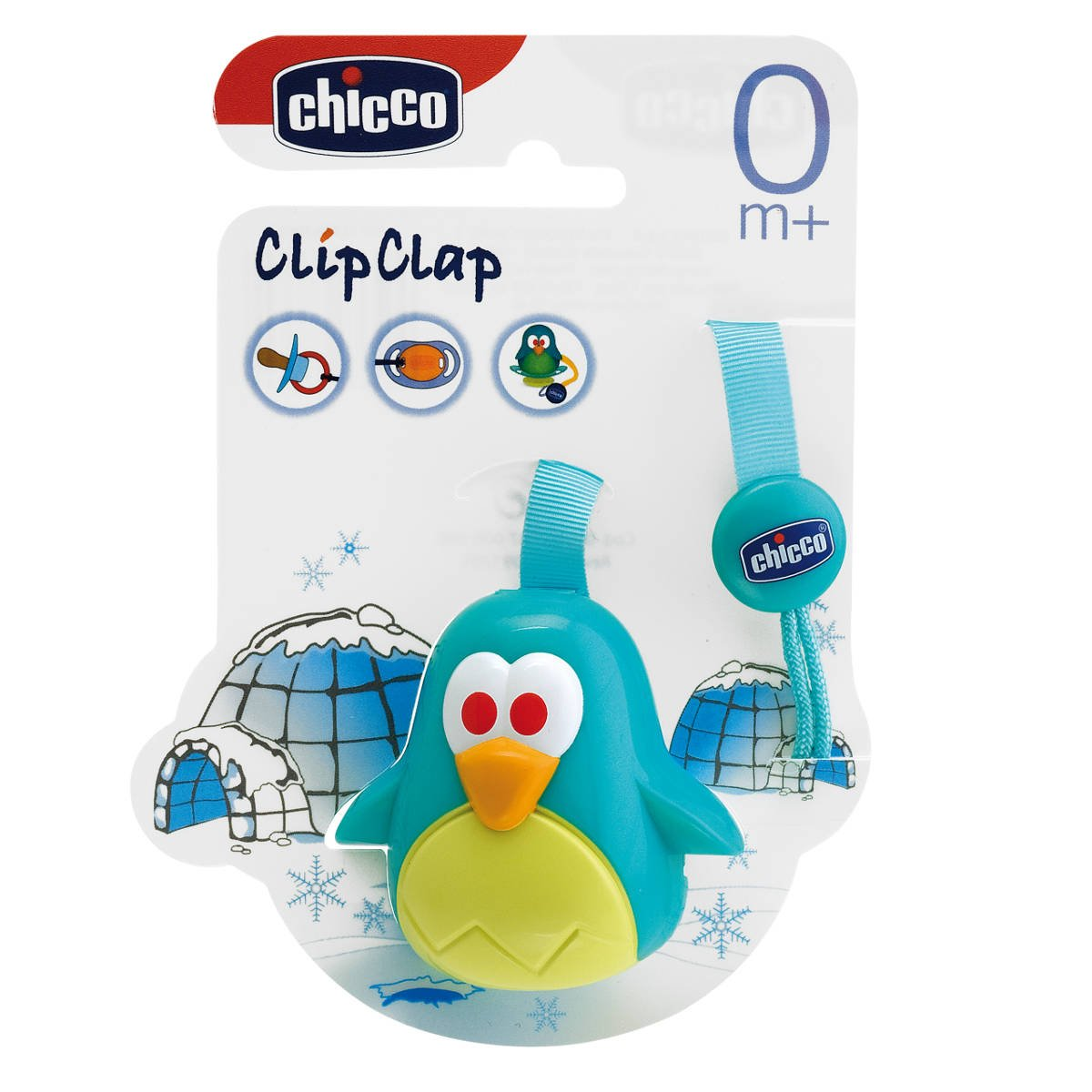 Amazon.com : Chicco Safety Clip Clap Soother Clip With Teat Cover ...