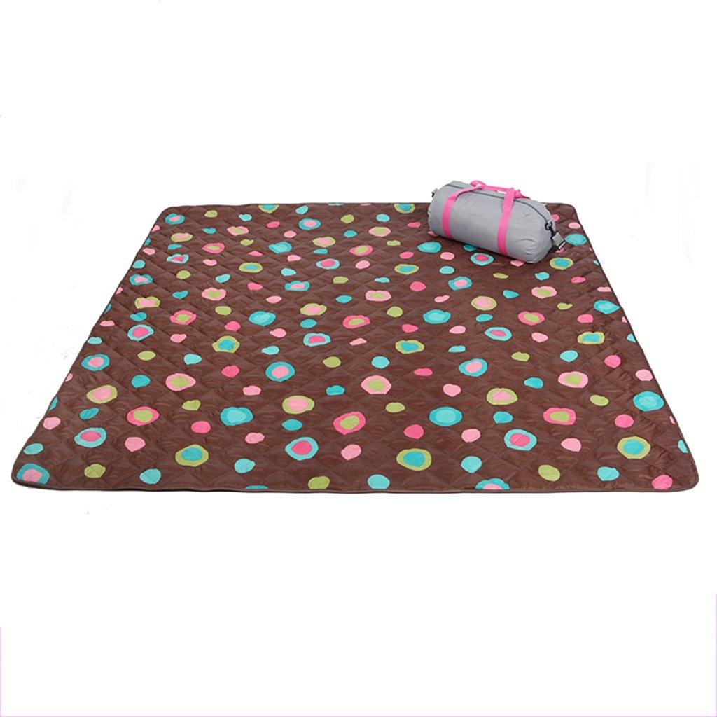 YOTA HOME Picknick-Matte Picknick-Matte Outdoor-Campingmatte Zelt-Schlafmatte Bodenmatte Feuchtigkeitsspender Maschinenwäsche Picknickdecken