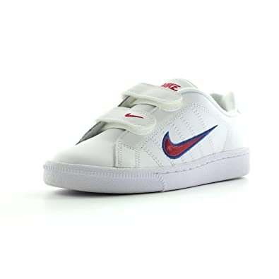 fc043a0581 Nike Court Tradition 2 Kids Velcro Trainers (UK2): Amazon.co.uk: Shoes &  Bags