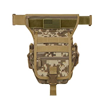 Amazon.com: East West EE. UU. rtc519 Tactical Muslo Paquete ...
