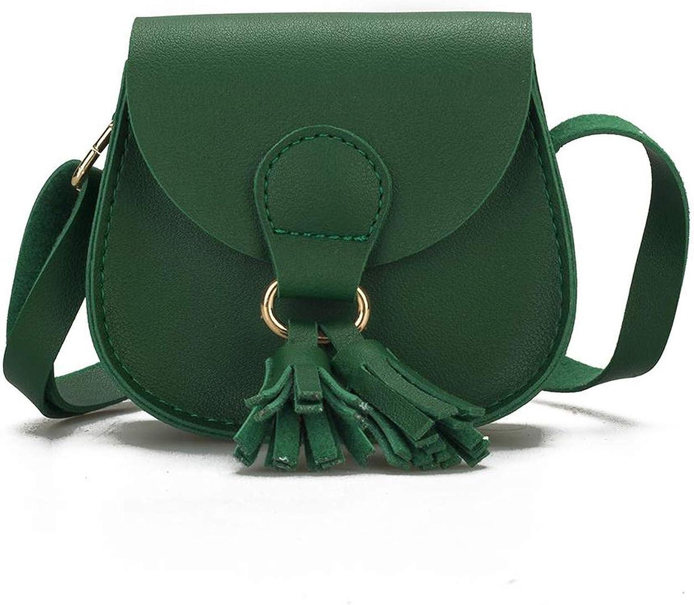 Chibi-store Children Hanabag Fashion Wallet Mini Satchel Portable Bag with Tassel Single-shoulder