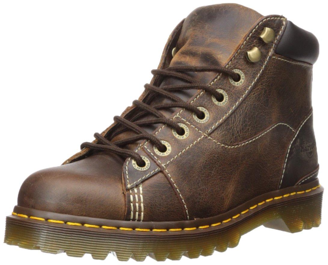 Dr. Martens Alderton Tan Greenland Construction Boot,black tan greenland,8 Medium UK (US Men's 9, Women's 10 US) by Dr. Martens