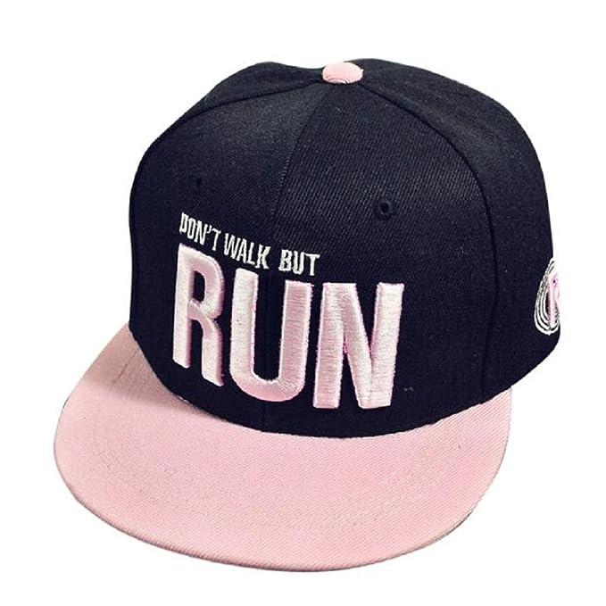 Xinantime Sombrero, Sombrero Hip Hop Adolescentes Gorra de Béisbol Ajustable Unisex (Negro): Amazon.es: Deportes y aire libre