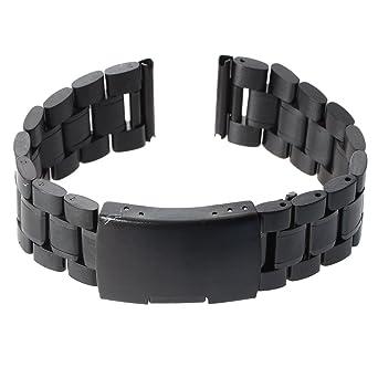 orologio cinturino acciaio nero