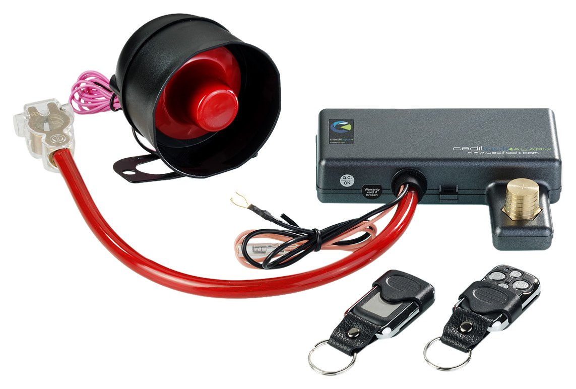Cadillock Alarm – Auto-Alarmanlage mit Wegfahrsperre Quitewin Technology CL-A