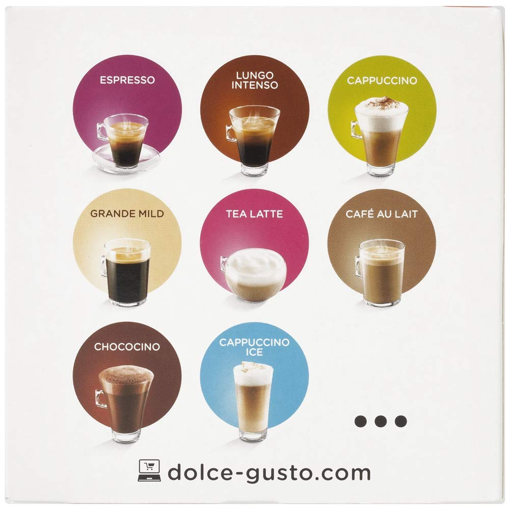 NESCAFÉ Dolce Gusto Café Lungo Descafeinado | Pack de 16 Cápsulas: Amazon.es: Amazon Pantry