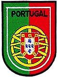 Patch écusson brodé blason armoirie portugal portugais drapeau thermocollant