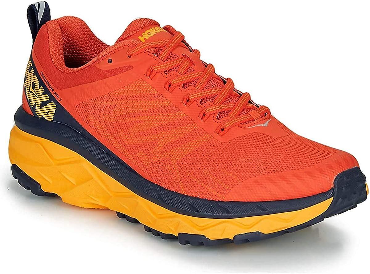 hoka Challenger ATR 5 Naranja Rojo 1104093MRBI: Amazon.es: Zapatos y complementos