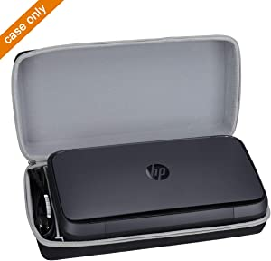 Aproca Hard Travel Storage Case Fit HP OfficeJet 250 All-in-One Portable Printer Wireless Mobile Printing CZ992A (Black)