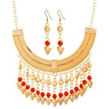 EXMART Gold Plated Jewelry Set for Women