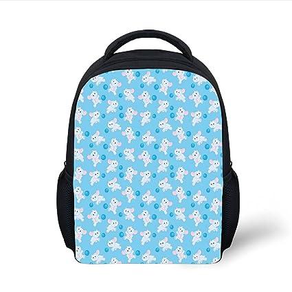 0dbe2dfa96dc Amazon.com  iPrint Kids School Backpack Elephants Decor