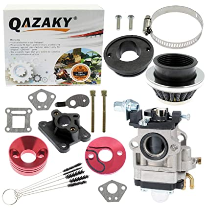 QAZAKY Junta de carburador de 15 mm Filtro de aire Colector de ...