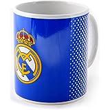 Real Madrid FC bleu blanc fondu de football cadeau boîte tasse officielle