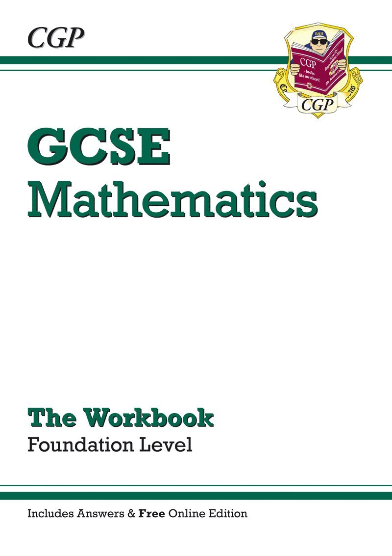 Workbooks grammar and punctuation workbook : GCSE Maths Workbook (with Answers and Online Edition) - Foundation ...