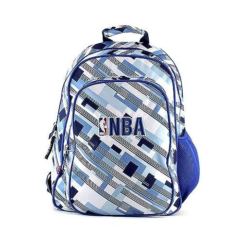NBA Mochila Tipo Casual, 13 Litros, Color Azul/Blanco: Amazon.es: Zapatos y complementos