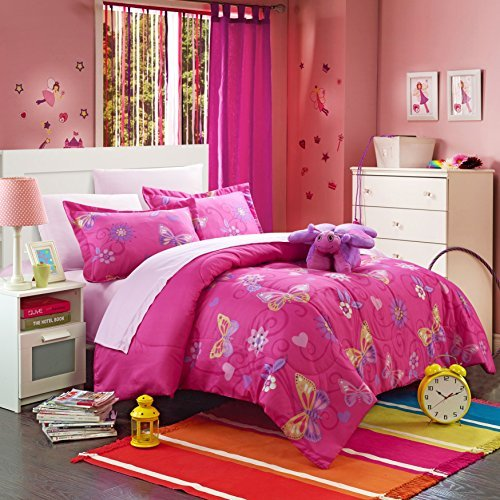 CHIC Home 6 Piece Rosie Butterfly Bed in a Bag Comforter ...