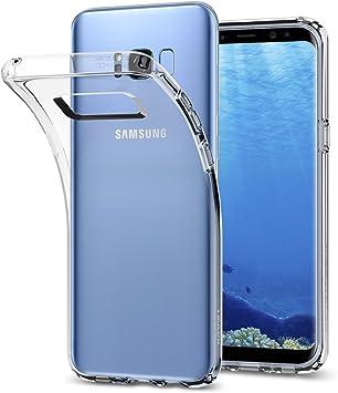 Spigen Funda Galaxy S8 Plus, Carcasa [Liquid Crystal] Slim ...