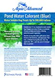 Blue Pond Water Colorant - Treats up to 500,000 Gallons - Reduces Algae and Pond Weeds