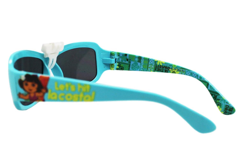 0e1c606972ea7 Amazon.com  Dora the Explorer Let s Hit La Costa! Light Blue Girls  Sunglasses  Toys   Games