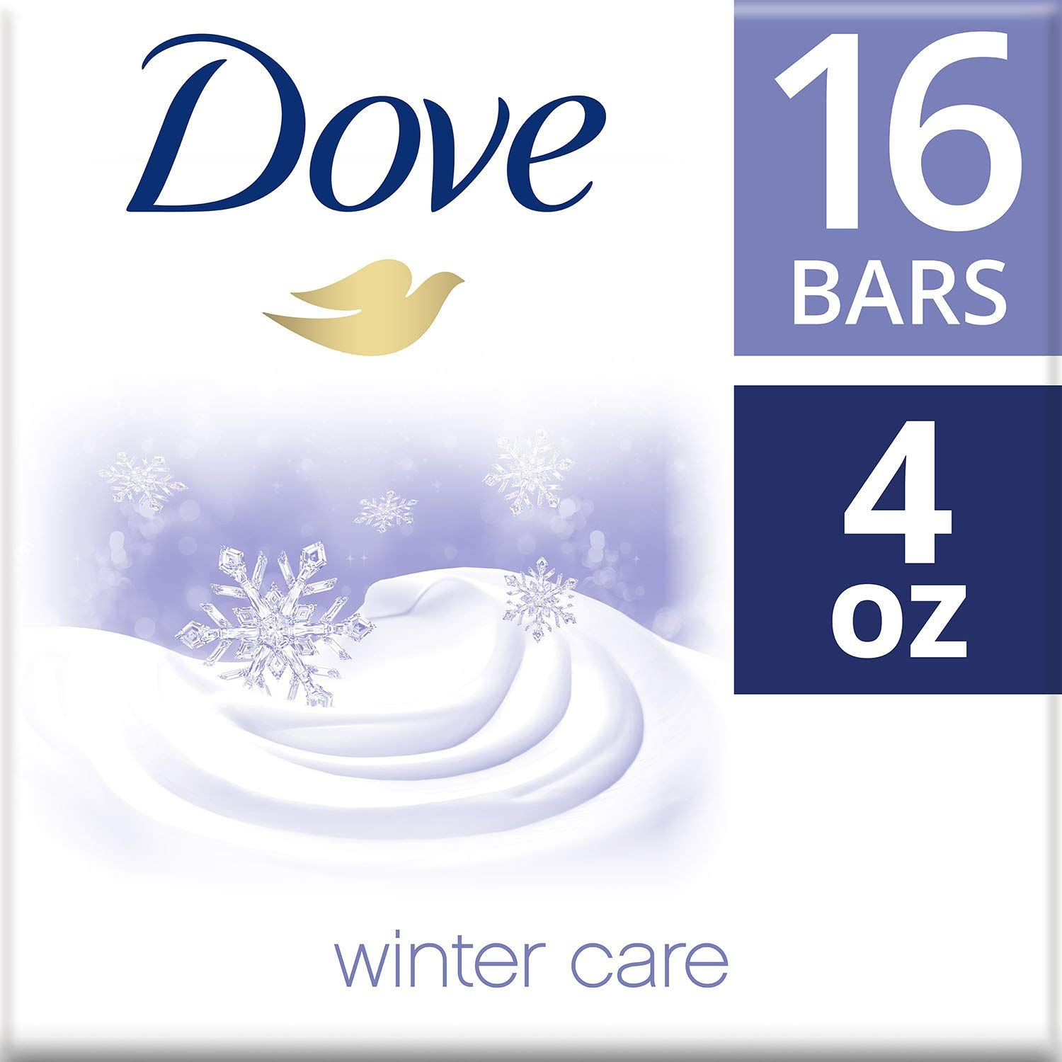Dove Beauty Bar, Winter Care (4 oz, 16 ct.) by Dove (Image #2)