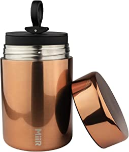 MiiR Stainless Steel Airtight Coffee Canister for Storing Coffee, Tea, Sugar, and More for Home or On The Go