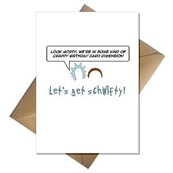 Tarjeta de Rick y Morty That Card Shop. Divertida tarjeta de ...