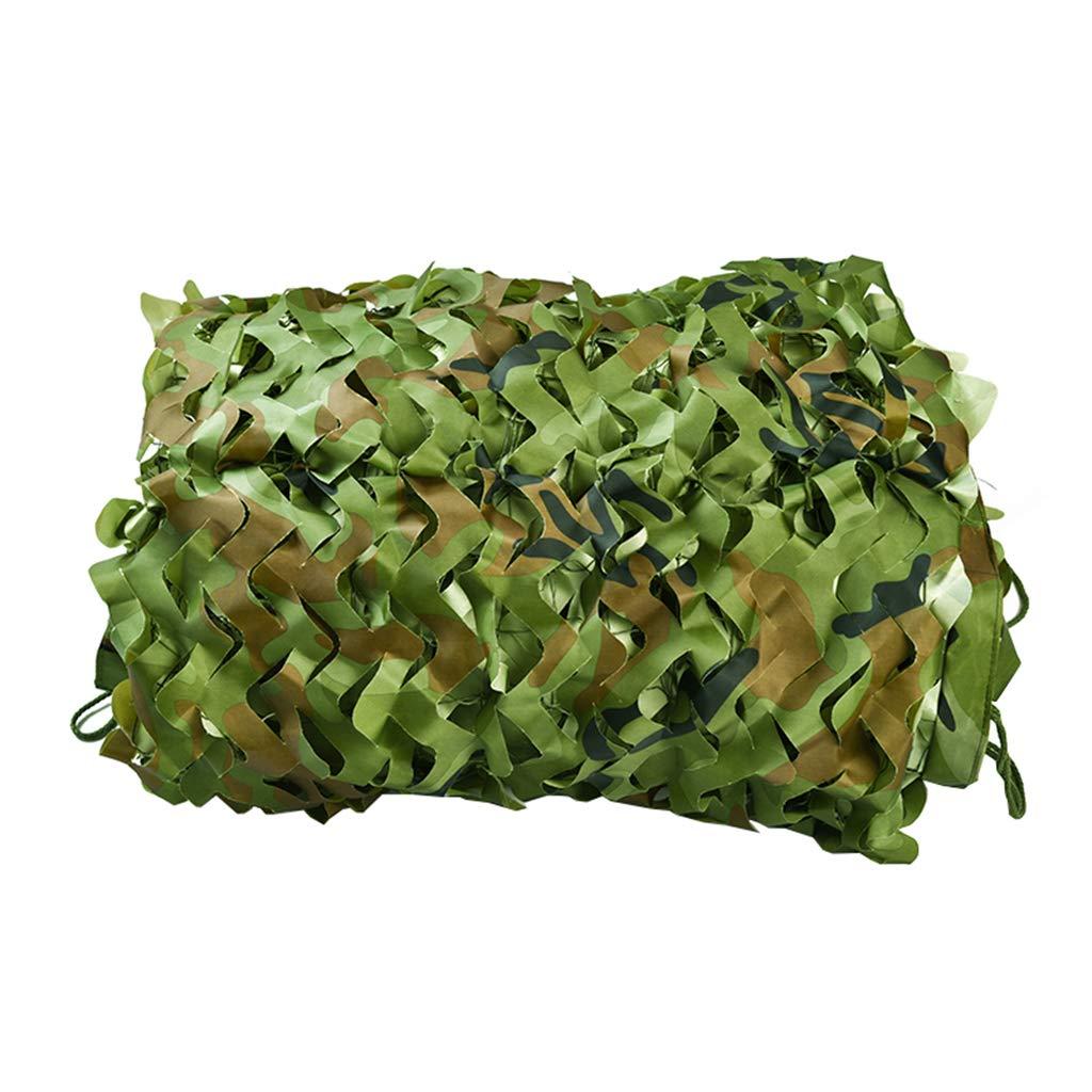 3x4m boisland Treillis de Camouflage,Filet de Camouflage,Camouflage Filet Renforcé,Filet d'ombrage,Faire de l'ombre,Pare-Soleil,boisland Couverture Filet Militaire Pour Camping Chasse Tournage