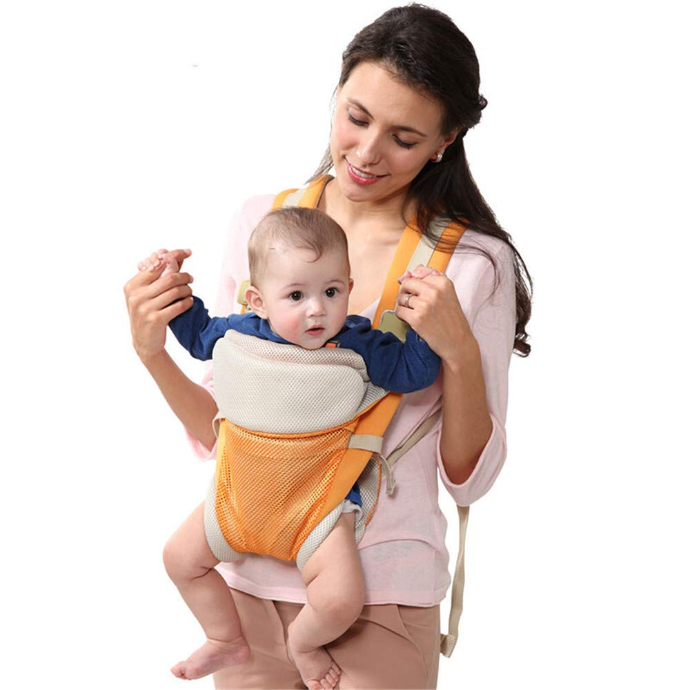 FIFY Babytrage Baby Schlinge Multifunktions Baby Taillenschemel Tragetuch Neugeborenen Schlinge Vier Jahreszeiten, A
