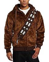 Fancycosplay Hoodie Jacket Brown Furry Chewie Sweatshirt Cosplay Costume