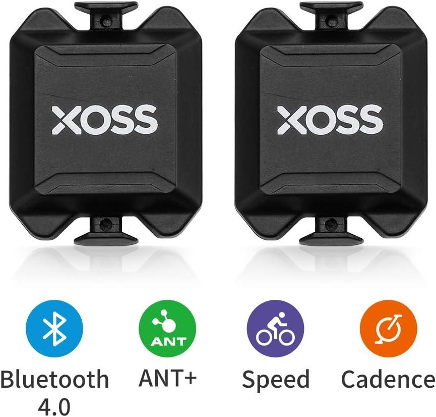 XOSS Cadencia/Velocidad Sensor para la computadora de la Bici teléfono Inteligente Bluetooth/Ant + Modo Dual Ciclismo Bicicleta inalámbrica