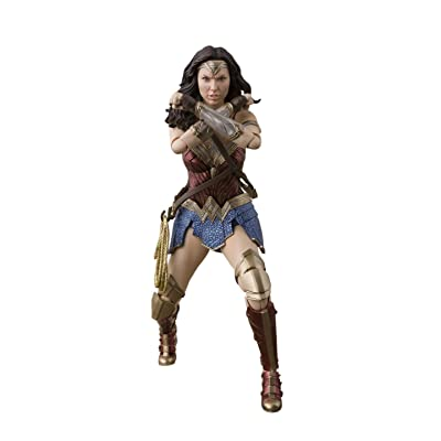 TAMASHII NATIONS Bandai S.H. Figuarts Wonder Woman Justice League Action Figure: Toys & Games