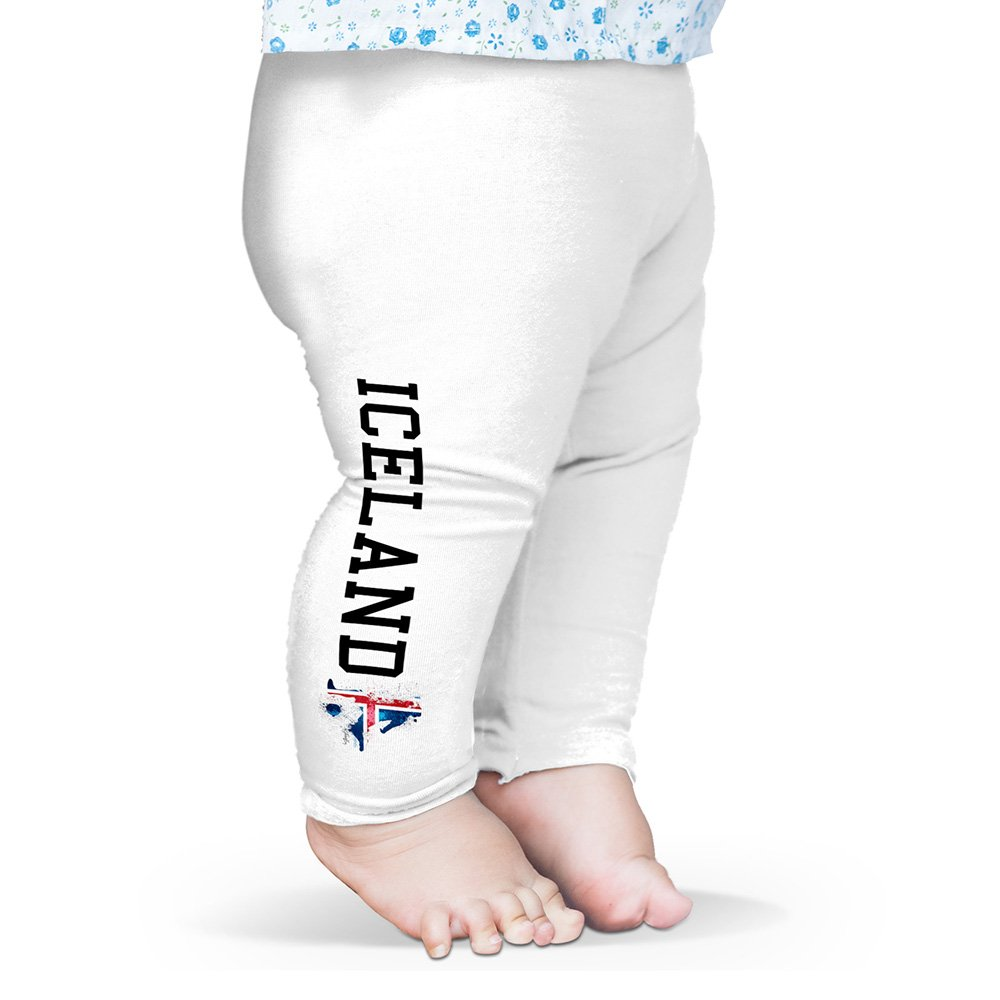 Twisted Envy Baby Pants Football Soccer Silhouette Iceland