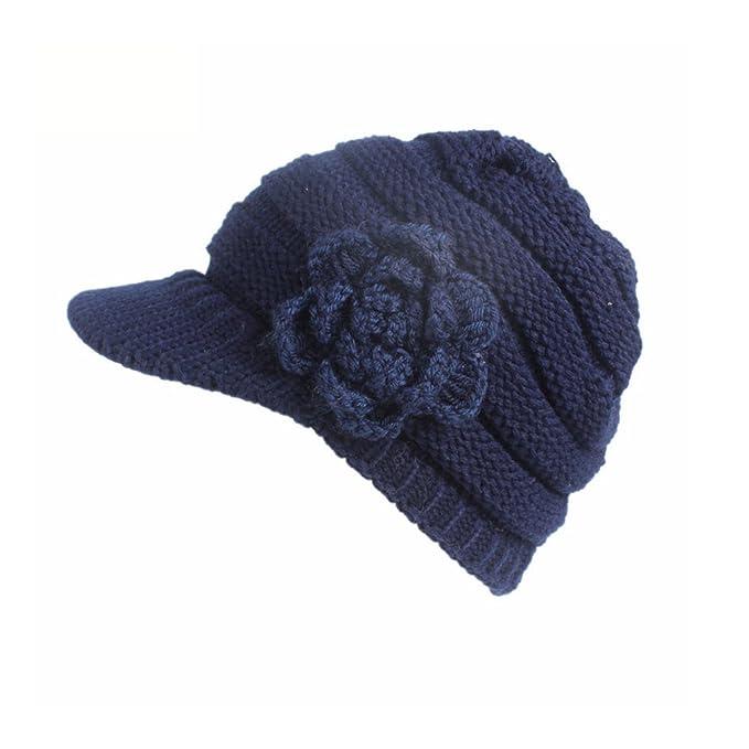 Cappello Donna Skullies Berrett Invernale Cappello Beanie Cappelli Donna  Berretti Maglia per Donne  Amazon.it  Abbigliamento c170eb9fc589
