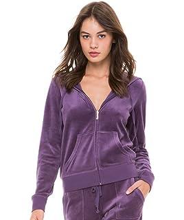a8f65e6f Amazon.com: Juicy Couture Womens Track Velour Collegiate Juicy ...