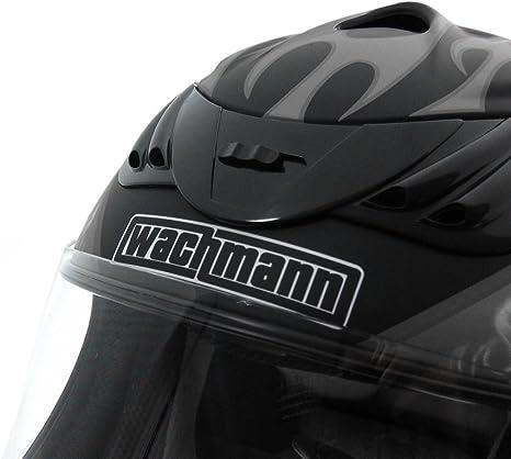 Motorradhelm WACHMANN WA-30 Defensor rot Integralhelm schwarz matt Gr/ö/ße XS