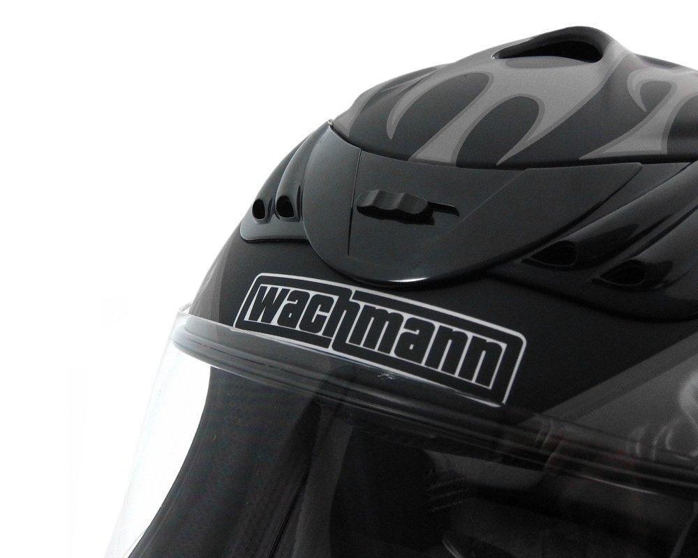 Rollerhelm WACHMANN WA-30 Defensor blau//silber matt Integralhelm Motorradhelm Gr/ö/ße M