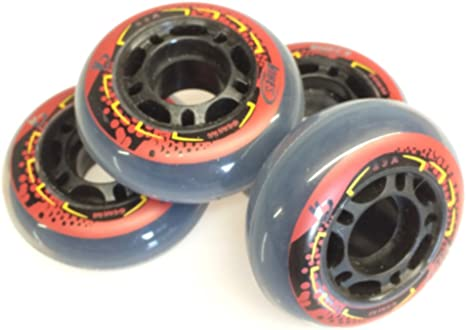 High Rebound Formula Sliding Wheels For Skateboard Skate Scooter 60 x 45mm