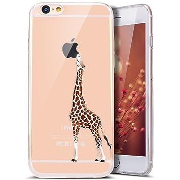 iPhone 6 Plus funda, iPhone 6S Plus carcasa de TPU, Ukayfe ...